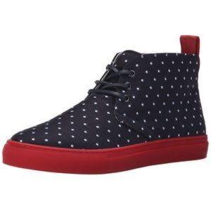 DEL TORO Polka Dot Sunbrella Chukka Sneaker